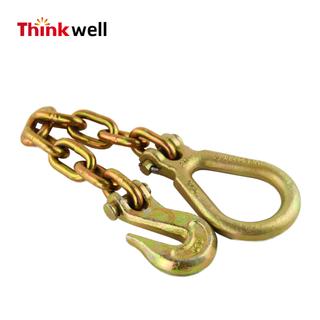 G70鏈組件,帶抓鉤和Clevis梨鏈